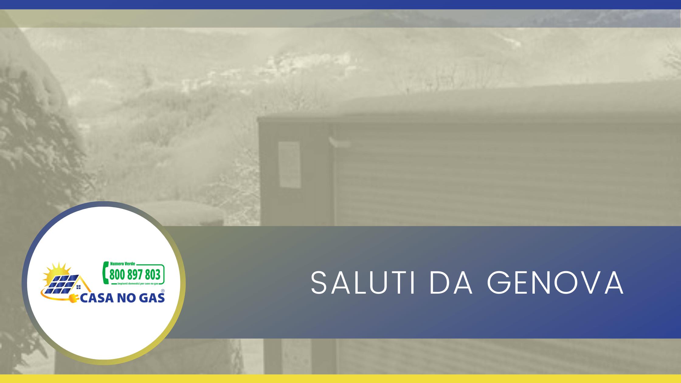 Saluti da Genova